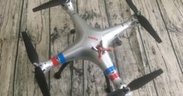 Syma und kleine Drohne